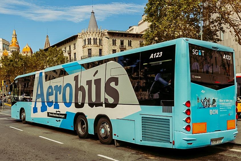 Aerobus en Barcelona | España